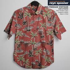 Reyn Spooner Size Chart