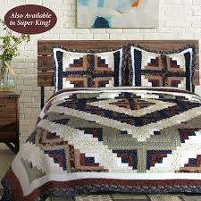 Colorado Cabin Patchwork Quilt Bedding &  Adamdwight.com