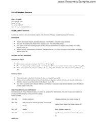 Social Work Resume Skills Musiccityspiritsandcocktail Com