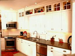 56 compulsory kitchen enclose space above cabinets soffit should you decorate what do put on top