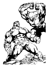 Small Picture Coloring Pages Of Incredible Hulk Coloring Page Coloring Home