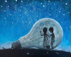 saatchi art artist adrian borda painting the night we broke the moon