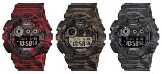 the top camouflage g shock watches g shock gd 120cm camo series