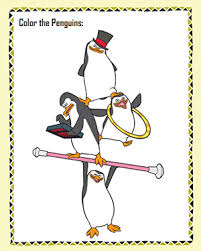 Small Picture Color Penguins Free Madagascar Coloring Page JumpStart