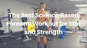 forearm size the best science based forearm workout for size and strength