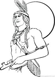 Native American Coloring Pages Luxury Printable Free Printable