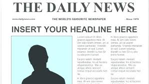 Newspaper Google Docs Template Cool Newspaper Templates Template For Students Pdf Creative