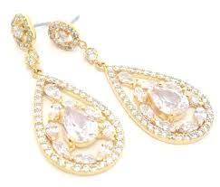 gold crystal chandelier earrings together with gold bridal earrings art wedding earrings chandelier wedding jewelry crystal