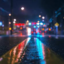 Rainy City Night iPad Air Wallpapers ...