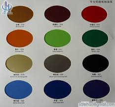 Acp Colour Chart Acp Color Sheet_3 From China Manufacturer Manufactory