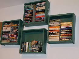 Dresser Drawer Shelves Cool Bookshelf Ideas Diy Bookshelves From Recycled Materials