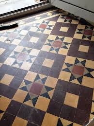 victorian tiled floor refresh radford before