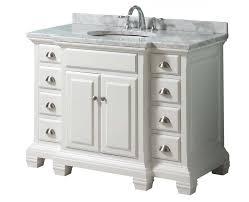 White bathroom vanity 36 inch Kids Bathroom Pinterest White