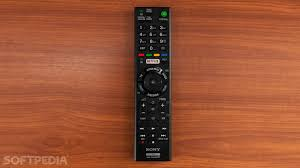 sony tv remote netflix. the classic old remote control with buttons is still here sony tv netflix t