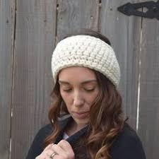 Crochet Ear Warmer Pattern Classy Easiest Headwrap EVER Crochet Pinterest Crochet Patterns