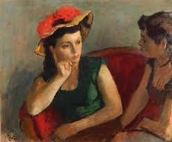 a really great painting by american artist robert phillip 1895 1981 oil