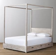 Callum Storage Canopy Bed