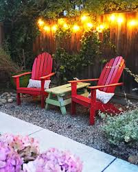 eclectic outdoor furniture. Casual Eclectic Outdoor Space At Night Furniture