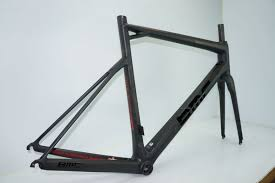 this calfee carbon frame has also been stripped of paint prepped and clear coated ready for new decals