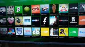 sony smart tv. sony smart tv apps 2014