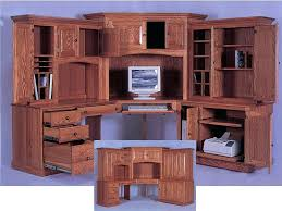 home office computer desk hutch. Corner Computer Desk With Hutch For Home Drawgs Office Furniture Laptop Workstation Student I