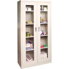 Metal Storage Cabinet With Lock Sturdy Garage Storage Cabinets