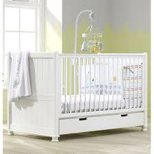 hampton luxury baby cot toddler bed storage drawer white wooden teething rail for