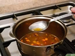 Fett abschöpfen suppe