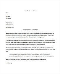 lease agreement letters sample tenancy agreement letter landlord letter templates 5 free