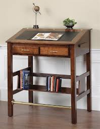 amish executive stand up desk
