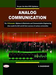 buy analog communication rd sem diploma electronics communication  analog communication 3rd sem diploma electronics communication engineering