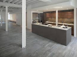 wood tile kitchen idea
