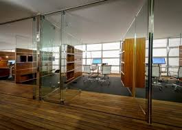 office glass walls. project office for living by jean nouvel glass walls