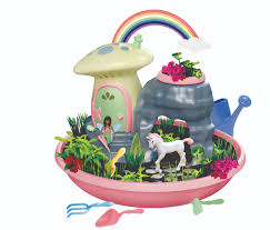 my fairy garden unicorn paradise