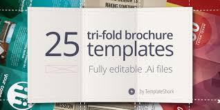 Editable Foldable Templates 25 Editable Illustrator Tri Fold Brochure Templates Bypeople
