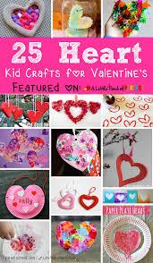 adorable valentine s day heart craft ideas for kids craft kids valentines