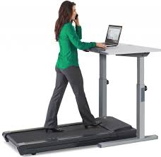 woman walking on lifespan tr1200 dt5 treadmill desk