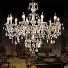 crystal ceiling lights cognac luxury