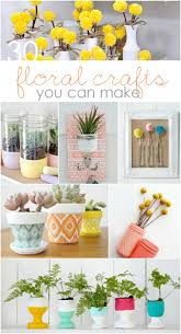 Easy Floral Home Decor Ideas, Fun Craft