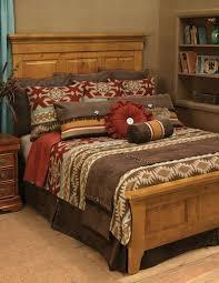 Southwestern Bedroom Furniture Adobe Vista Southwestern Bedding Collection Santa Fe Ranch