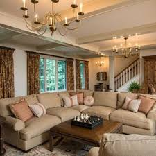 country living room designs. Example Of A Country Open Concept Medium Tone Wood Floor And Brown Living  Room Design Designs B