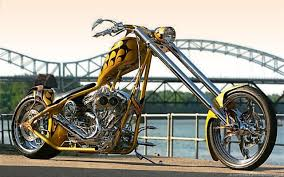 yellow custom chopper bike share on hi5 images photos pictures