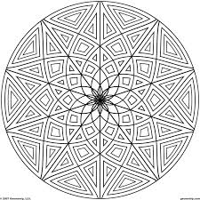Printable Coloring Pages geometric shape coloring pages : Coloring Page Shape Geometric Designs Coloring Page For Kids ...