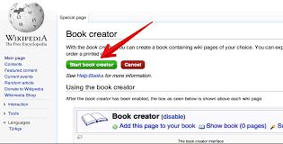 Wikipedia Create How To Create Wikipedia E Books Pdf File Format