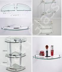 Bathroom Bathroom Glass Corner Shelf Kitchen Glass Shelf Three Layers Glass Rh Alibaba Com Decorative Brackets For Proterinfo Decorative Glass Shelves Car Design Today