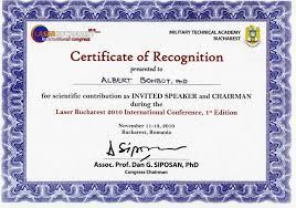 International Conference Certificate Templates Condo Financials Com