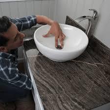 install the drain