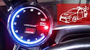 arduino shift light tachometer v1 0 Тарубару видео по ремонту mirage fix 18 intellitronix digital lazer gauge msd tachometer