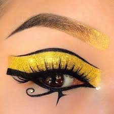 style by cat fun with glitter festival makeup cleopatra makeup egyptian eye makeup