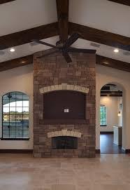 stone fireplace tv junsaus